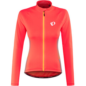 PEARL iZUMi Select Pursuit Thermal Jersey Women fiery coral diffuse
